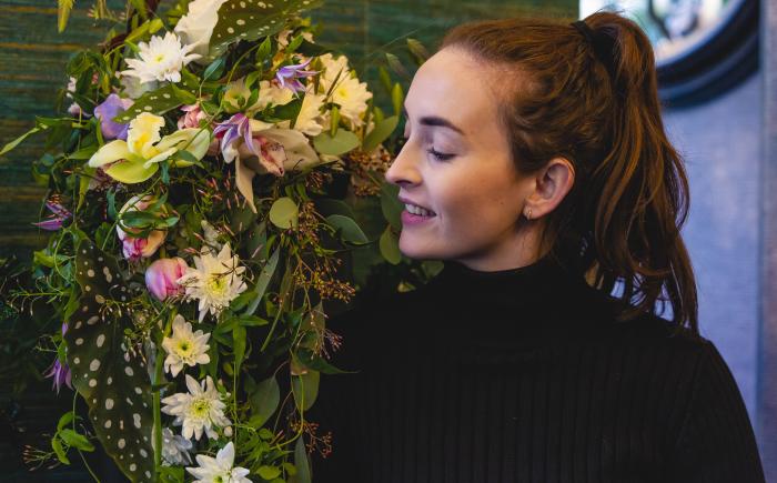Cinefleur Florist Contest Rotterdam Amanda