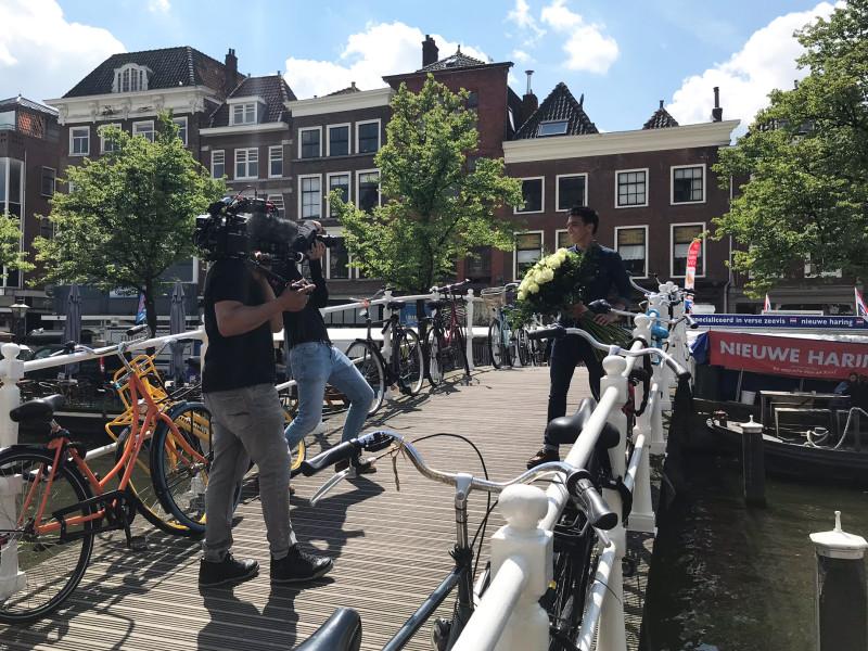Cinefleur behind the scenes Leiden