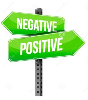 Positiviteit vs negativiteit