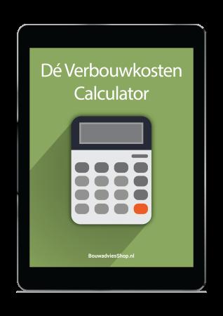 Verbouwkosten calculator illustratie