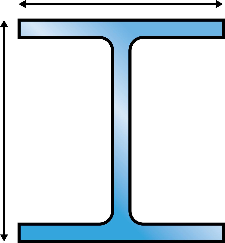 draagbalken H-profiel