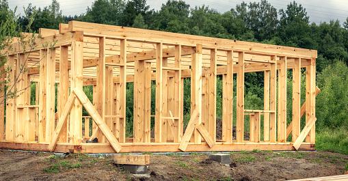 prefab houtskeletbouw