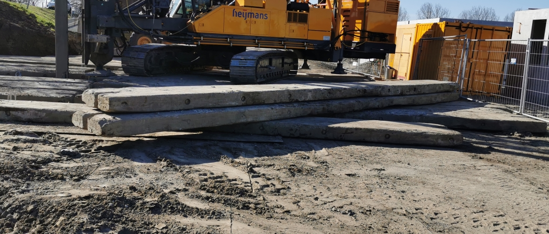 prefab betonpaal