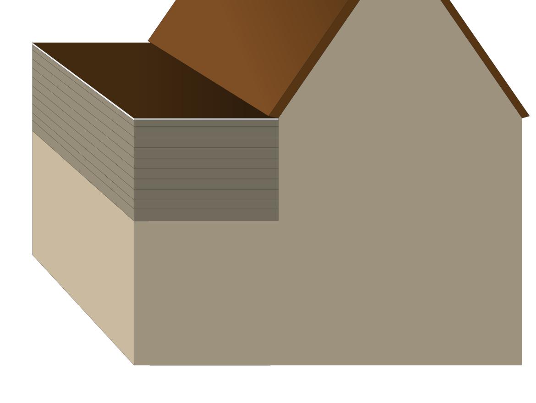 opbouw op uitbouw plat dak
