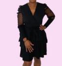 Black dress Fashion Kartel