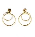 Gold Earrings De Buurvrouw