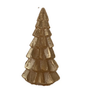 Gold Tree Candle