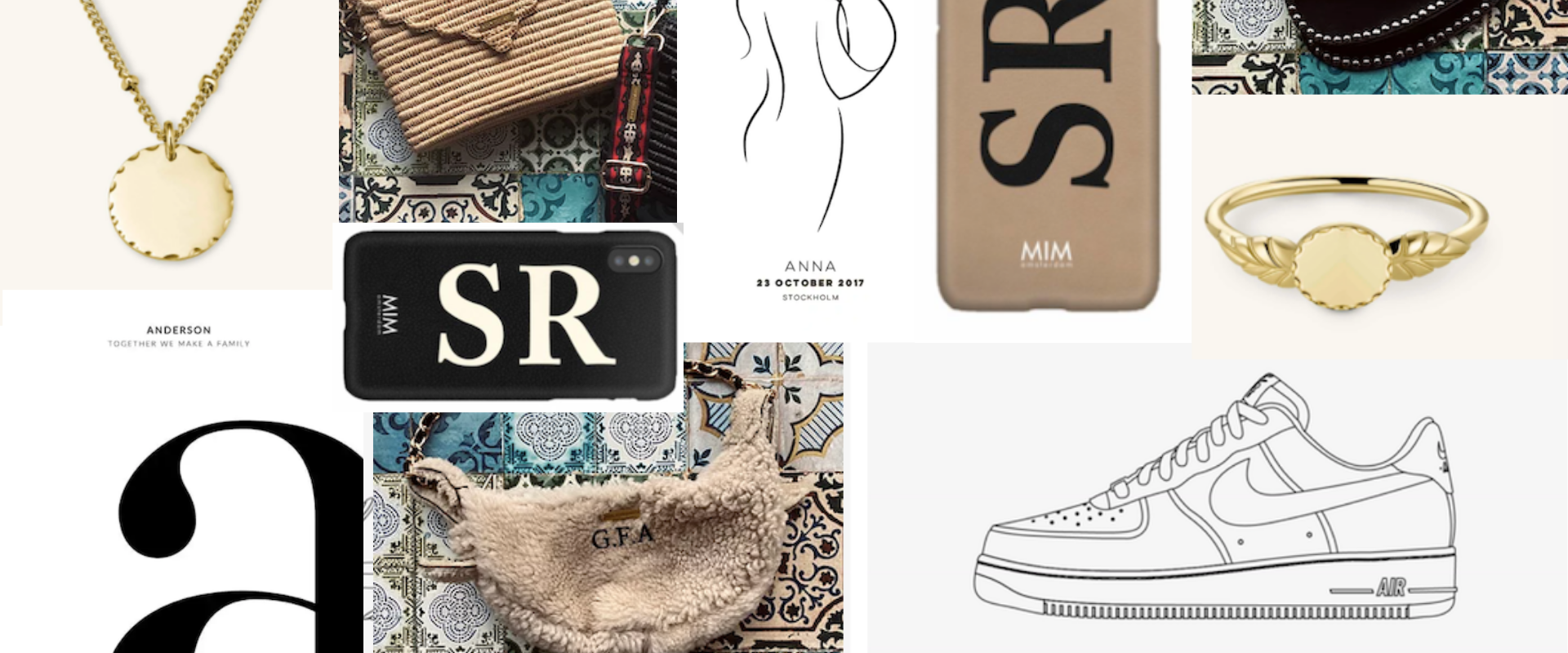 HOLIDAY GIFT GUIDE - PERSONALISED GIFTS