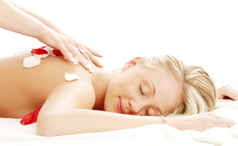 El masaje es una terapia holística