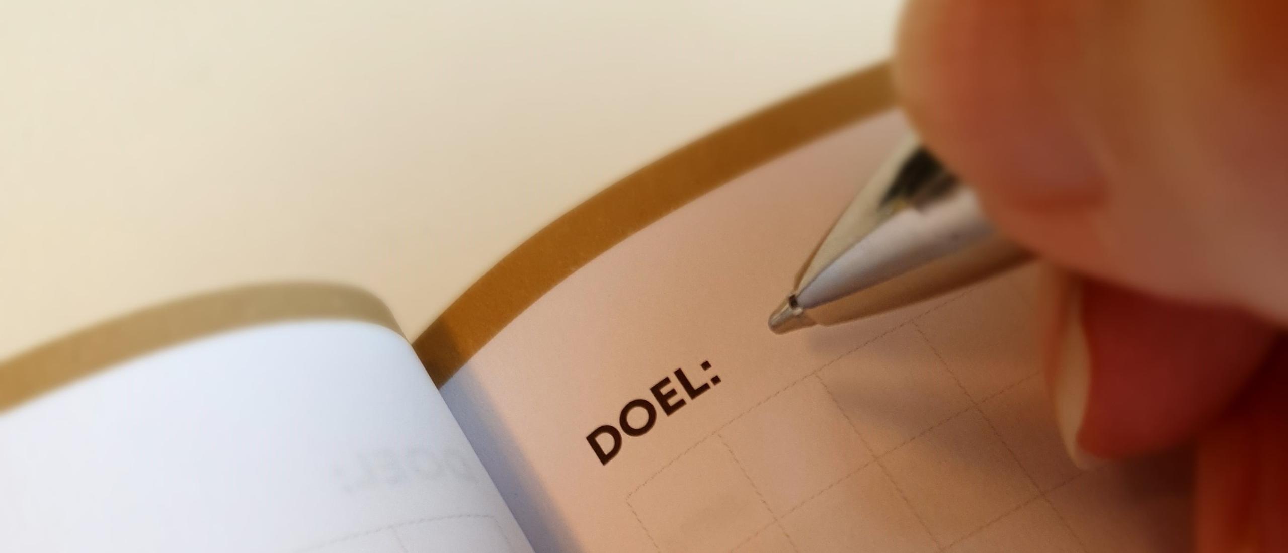 Wat is het nut van doelen stellen?