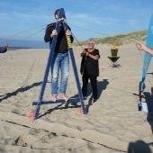 beachbattle of strandzeskamp op texel
