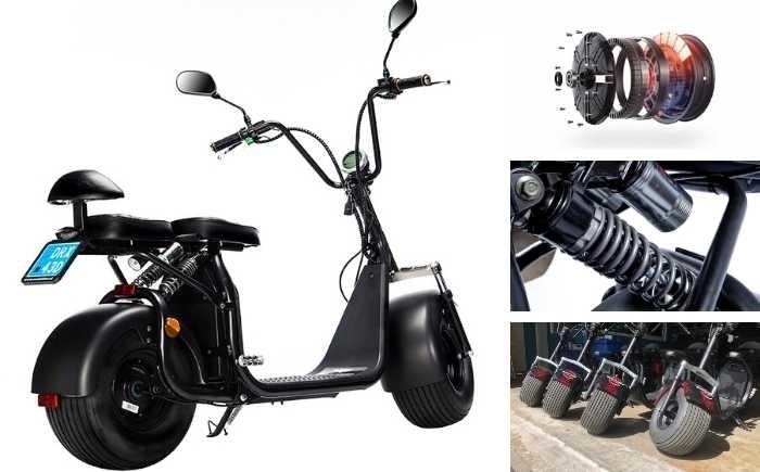 technische details over de texel cruiser scooter