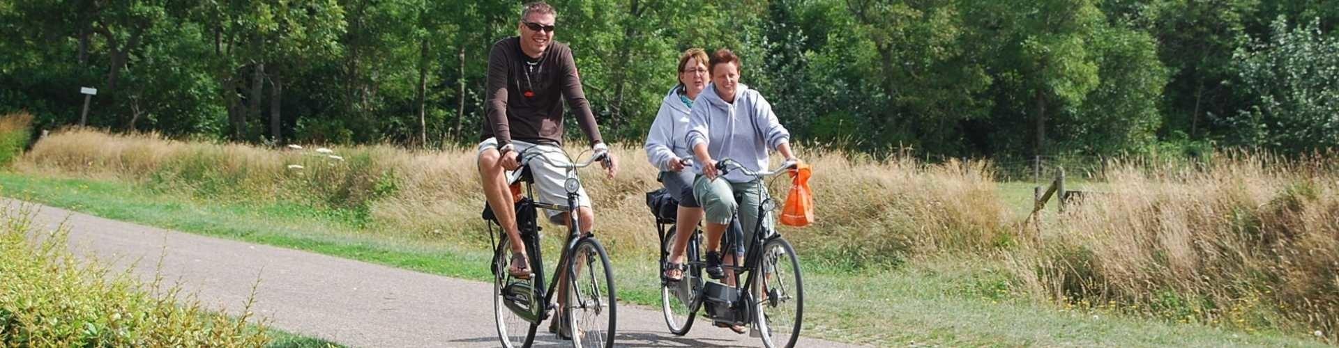 fietspuzzeltocht op texel met de tandem