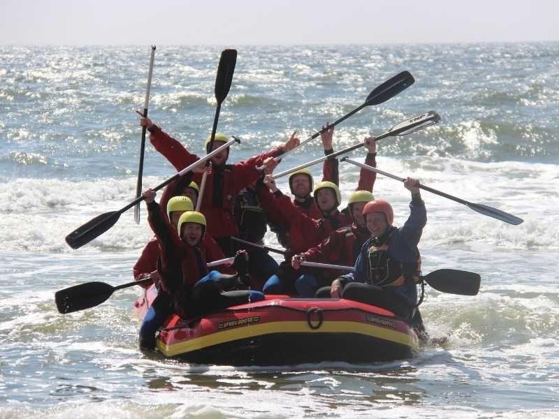 groepsuitje texel op het water