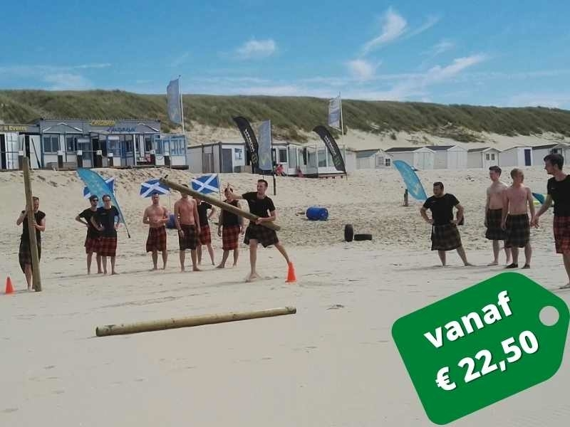 highland games op texelse strand
