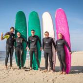 surfen leren op texel