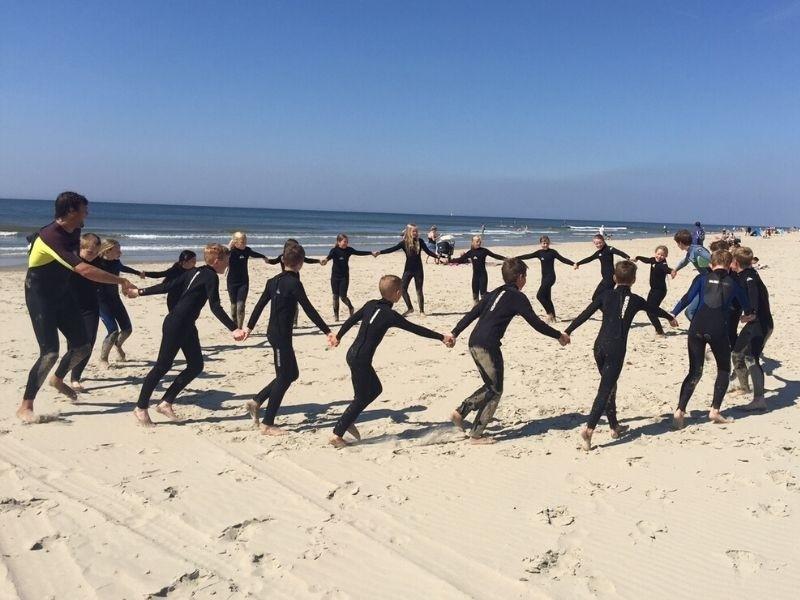 surfen texel geschikt voor schoolreisje texel