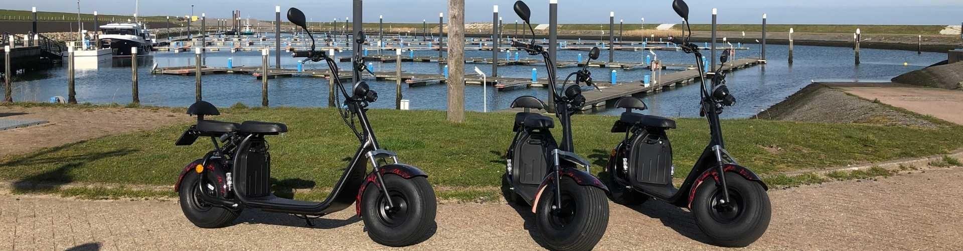 texel cruiser elektrische scooter huren op texel