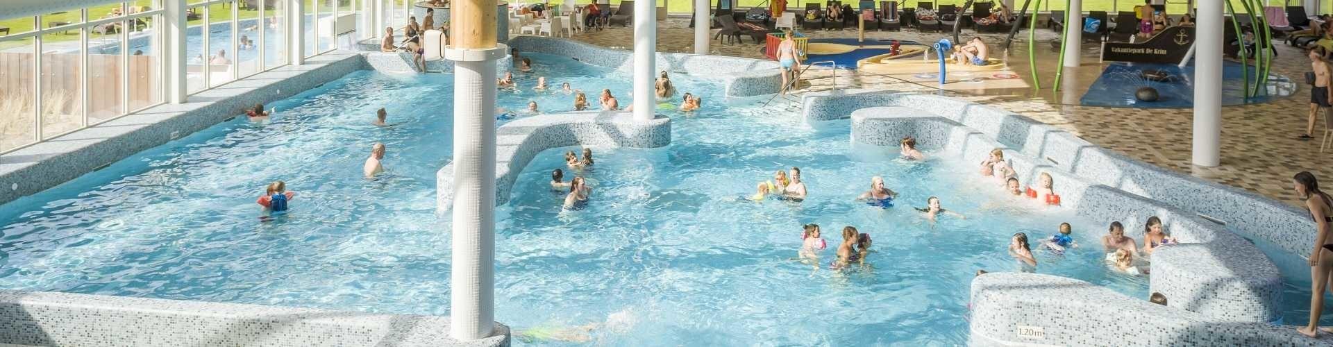 zwemmen in zwembad texel