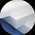 Dakisolatie met  polystyreen platen
