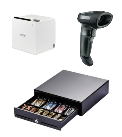 Kassalade, Barcodescanner en bonprinter voor je salonsoftware