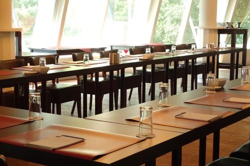 Dineren in restaurant grand café de bosbaan in het amsterdamse bos in amstelveen-amsterdam