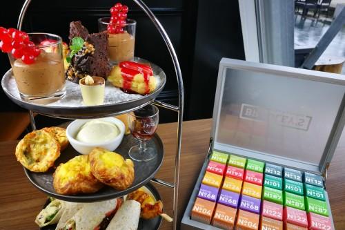 High tea in restaurant grand café de bosbaan in het amsterdamse bos in amstelveen-amsterdam