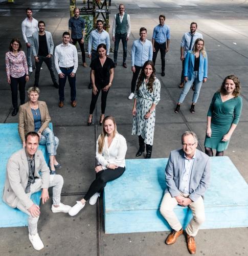 team foto van de duurzame adviseurs