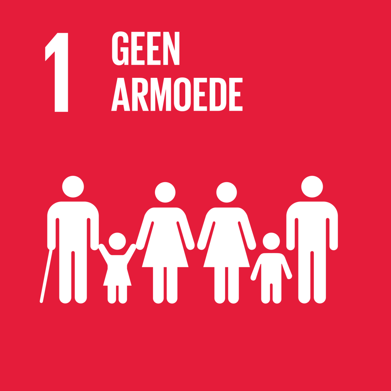 Sustainable Development Goal 1 - Geen armoede