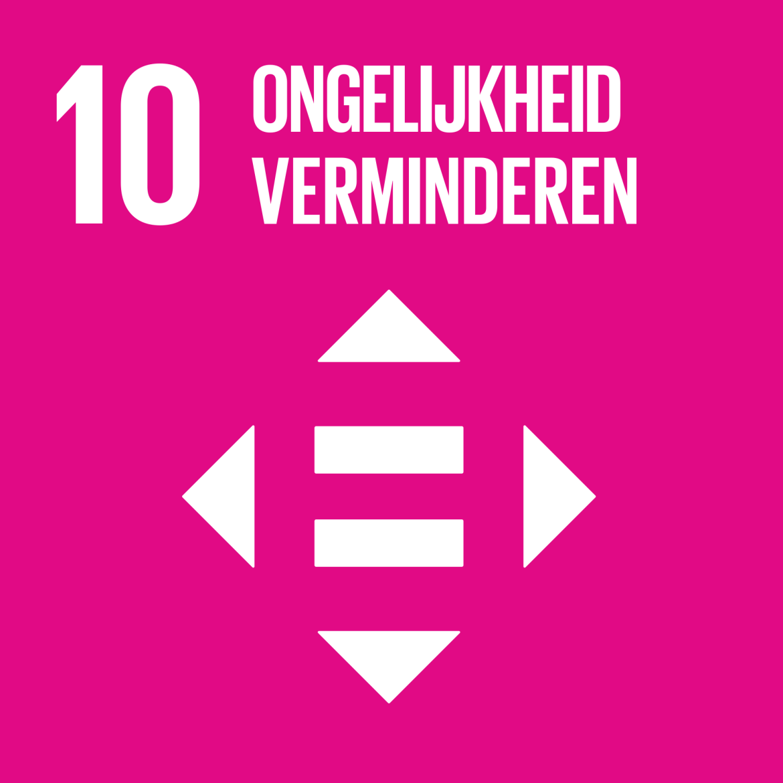 Sustainable Development Goal 10: Ongelijkheid verminderen