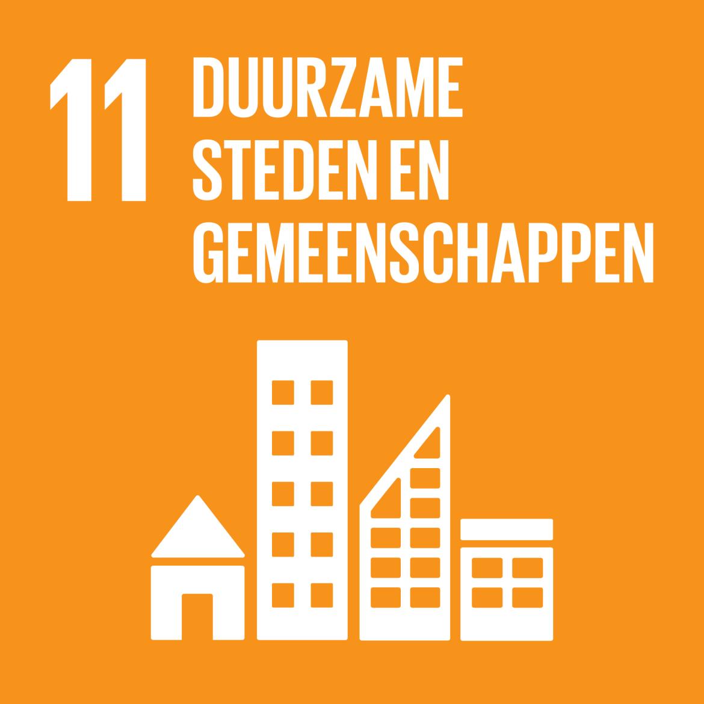 Sustainable Development Goal 11: Duurzame steden en gemeenschappen