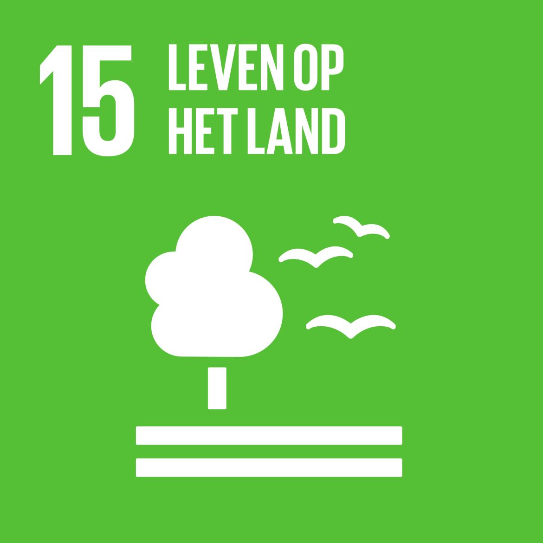 Sustainable Development Goal 15: Leven op het land