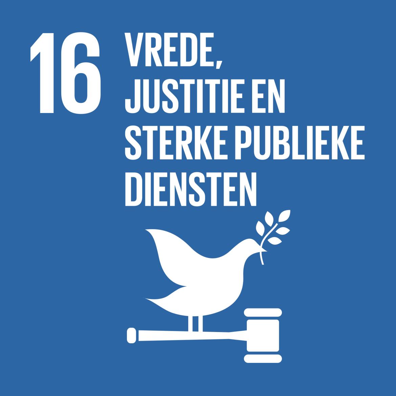 Sustainable Development Goal 16: Vrede, justitie en sterke publieke diensten