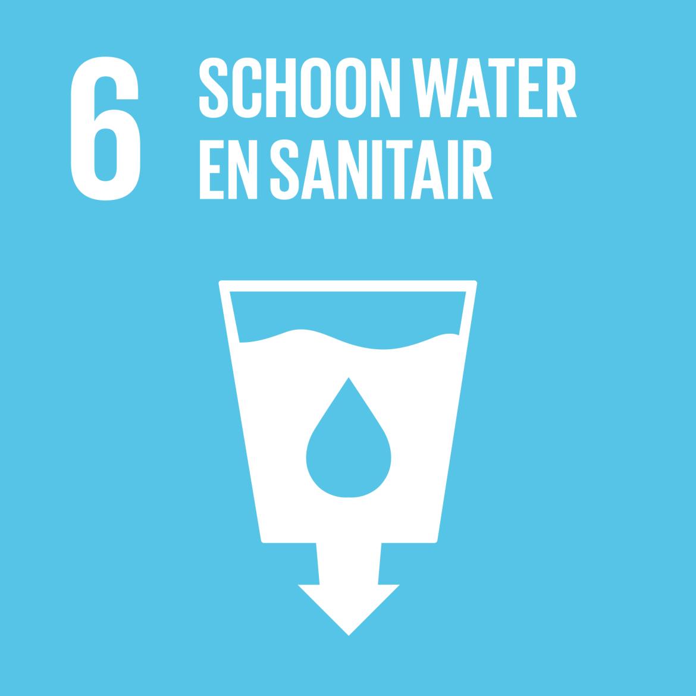 Sustainable Development Goal 6: Schoon water en sanitair