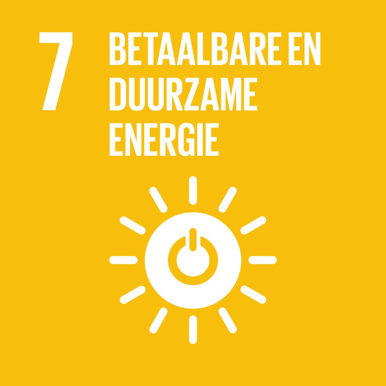 Sustainable Development Goal 7: Betaalbare en duurzame energie