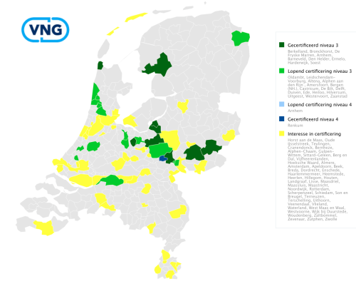 status CO2-Prestatieladder gemeenten