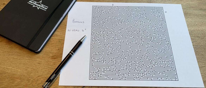 Aanvalsplan Deel II: Jouw doel in jouw Labyrint