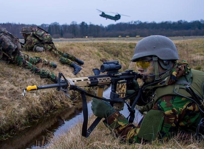 militair in het leger