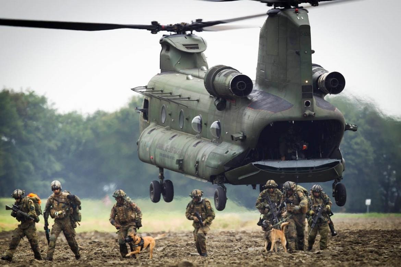 de Luchtmobiele brigade van de landmacht