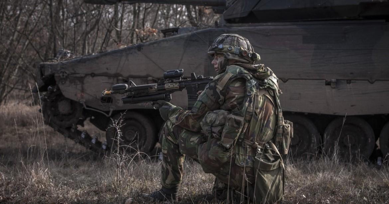 landmacht troepen in het buitenland