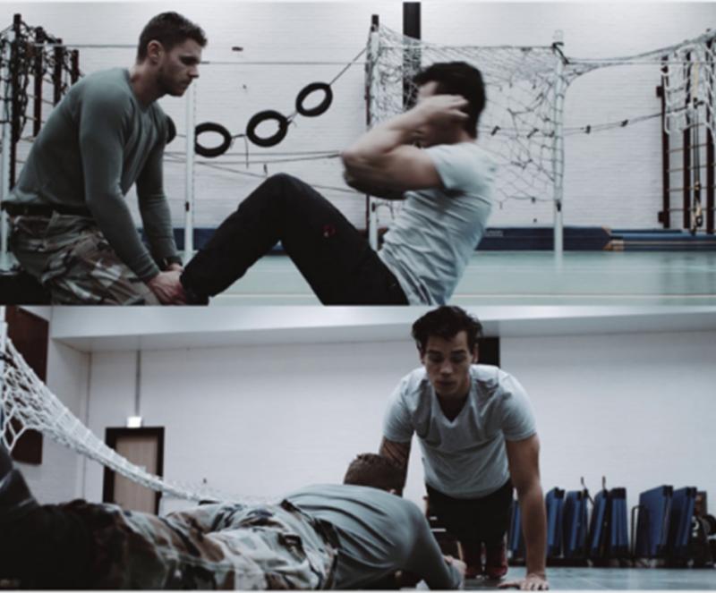 fitheidstest mariniers