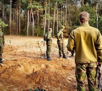 graaftest defensie landmacht