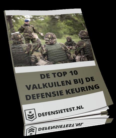 alle valkuilen tijdens de defensie keuring in 1 boek om jouw te helpen ze te voorkomen!
