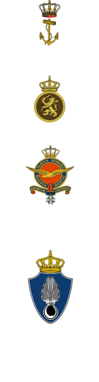 Het logo van de koninklijke marine