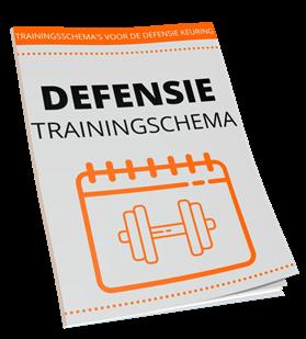 trainingsschema defensie