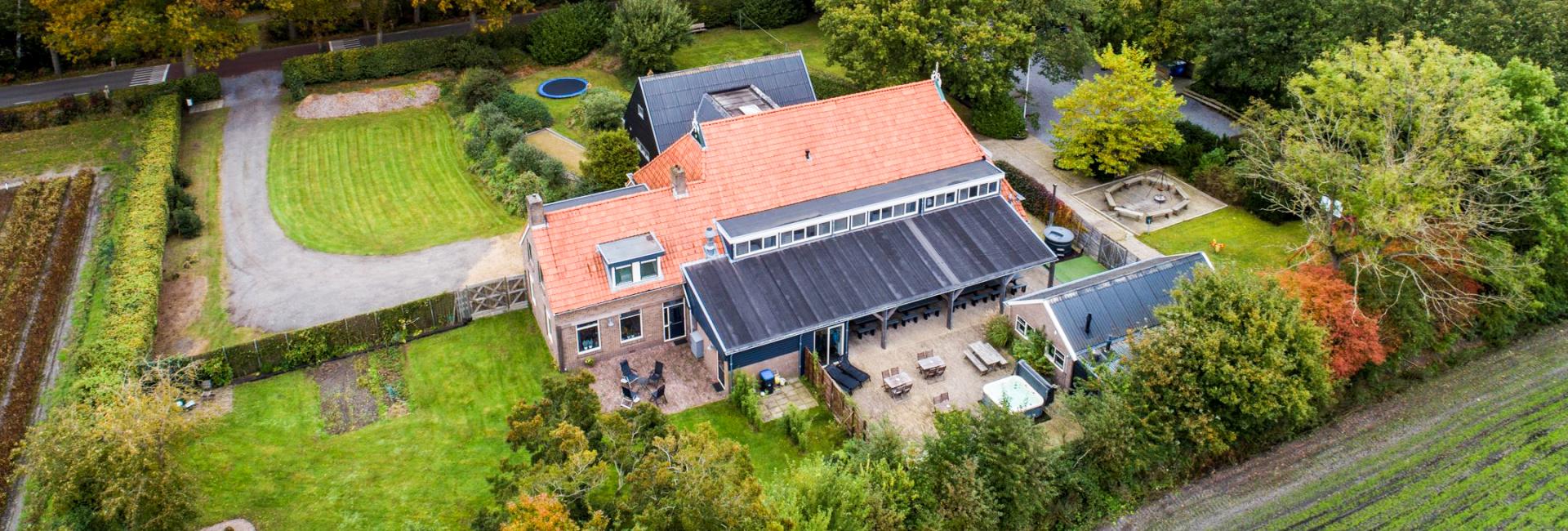 Groepsaccommodatie de Friese Ardennen