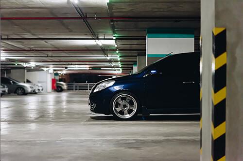 parkeergarage coating vloer aanbrengen