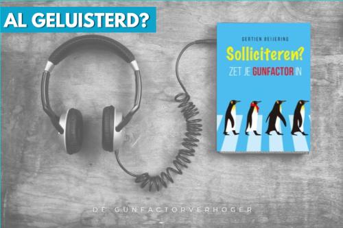 audiobook Solliciteren zet je gunfactor in