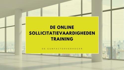 sollicitatievaardigheden training