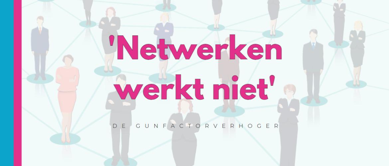 Netwerken werkt niet